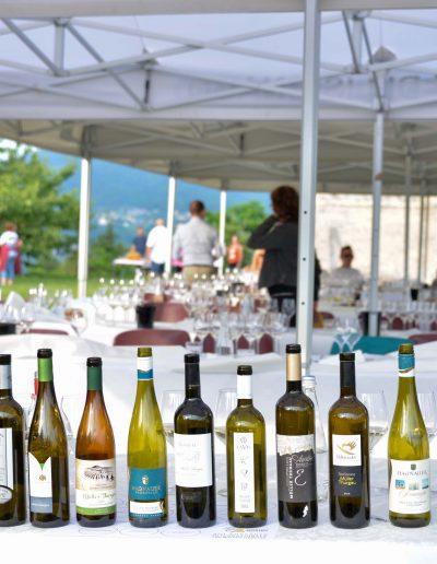 Alcuni dei vini partecipanti al 13 concorso internazionale - 29 edizione Rassegna