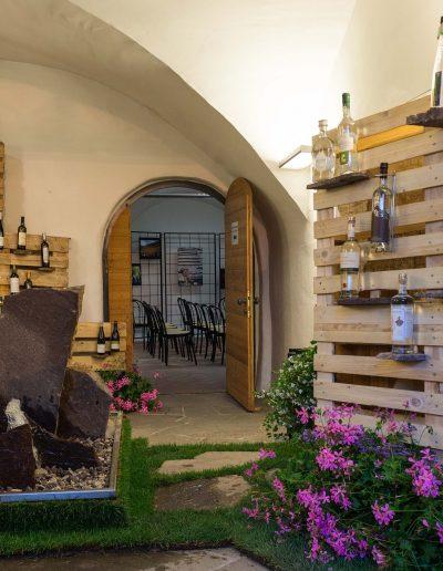 Allestimento atrio vini in concorso - 29 edizione Rassegna