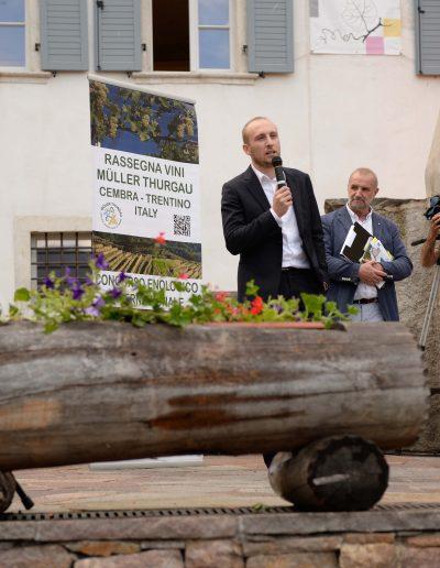 Il presidente Mattia Clementi - discorso di inaugurazione della 29 edizione