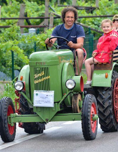 In marcia ridotta - trattori d'epoca - 29 edizione Rassegna