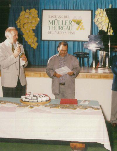 La prima edizione della Rassegna del Muller Thurgau.