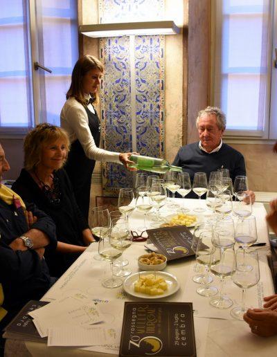 Degustazioni a Palazzo Maffei